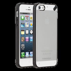 תמונה של Slim Shell Case for iPhone 5S/5 - Clear Black Pure Gear