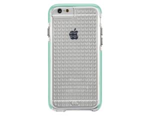 תמונה של TOUGH AIR CASE for iPhone 6 CLEAR/POOL BLUE Case mate