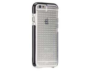 תמונה של TOUGH AIR CASE for iPhone 6 CLEAR/BLACK Case mate