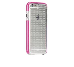 תמונה של TOUGH AIR CASE for iPhone 6 CLEAR/PINK Case mate