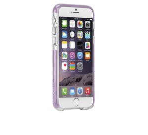תמונה של TOUGH AIR CASE for iPhone 6 CLEAR/IRIS PURPLE Case mate