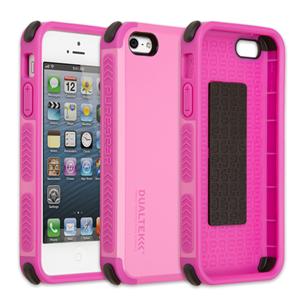 תמונה של DualTek Extreme Shock Case for iPhone 5S/5 - Simply Pink (Glossy) Pure Gear