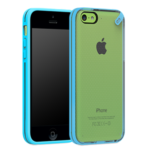 תמונה של Slim Shell iPhone 5C Clear\Blue Pure Gear