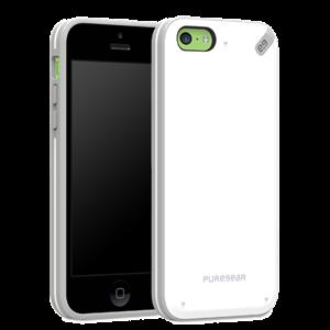 תמונה של Slim Shell iPhone 5C - White Pure Gear