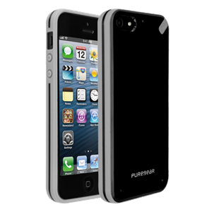 תמונה של Slim shell - Black Tea - iPhone 5 Pure Gear