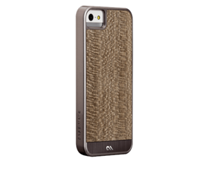 תמונה של Case-Mate Woods iPhone 5s - Grey Leopardwood Case mate