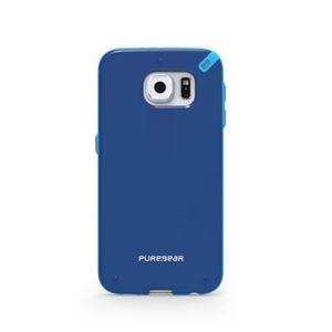 תמונה של Slim Shell Galaxy S6 Blue+ Pure Gear
