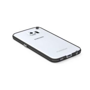 תמונה של Slim Shell Galaxy S6 clear/white+ Pure Gear