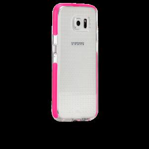 תמונה של Tough AIR Case for Galaxy S6 -Clear/Pink Case mate