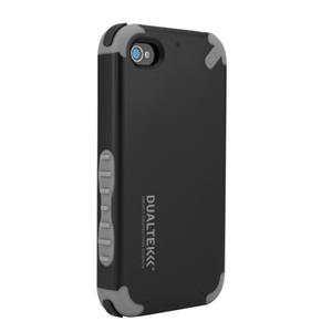 תמונה של DualTek Extreme Impact Case - Black - iPhone 4 Pure Gear