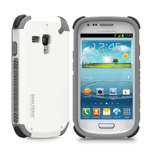 תמונה של DualTek Galaxy S3 Mini - Arctic White Pure Gear