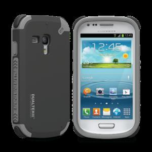 תמונה של DualTek Galaxy S3 Mini - Matte Black Pure Gear