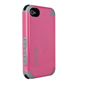 תמונה של DualTek Extreme Impact Case - Pink - iPhone 4 Pure Gear