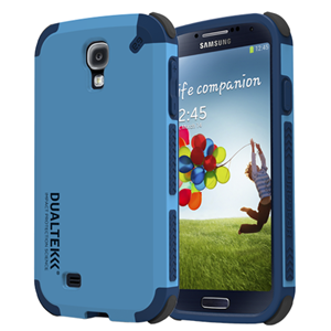 תמונה של Dualtek Galaxy S4 Indigo Blue Pure Gear