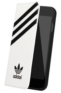תמונה של Adidas Booklet Case for Apple iPhone 6 - White/Black אדידס