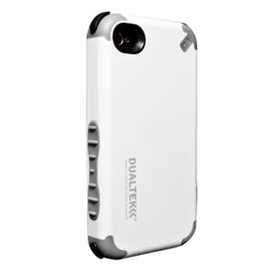 תמונה של DualTek Case - White - iPhone 4 Pure Gear