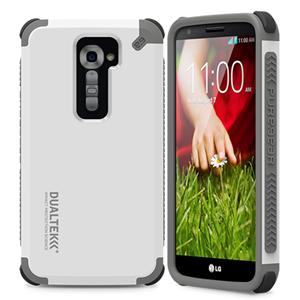 תמונה של DualTek White LG G2 Pure Gear