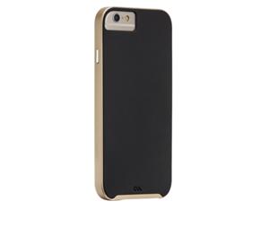 תמונה של Slim Tough Case for iPhone 6 Black/Gold Case mate