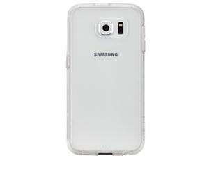 תמונה של Tough Naked Case for Galaxy S6 - Clear/White Case mate