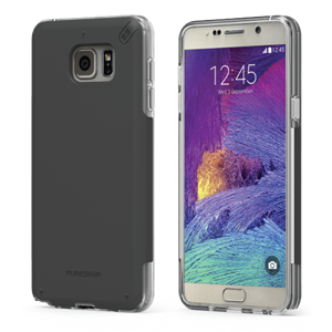 תמונה של DualTek PRO for Samsung Galaxy S6 edge Plus - Clear/Black Pure Gear