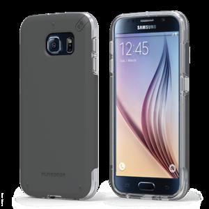 תמונה של DualTek PRO for Samsung Galaxy S6 - Clear/Black Pure Gear
