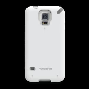 תמונה של Slim Shell Galaxy S5 - White Pure Gear