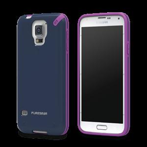 תמונה של Slim Shell Galaxy S5 - Blue Pure Gear