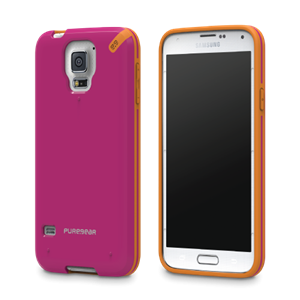 תמונה של Slim Shell Galaxy S5 - Pink Pure Gear