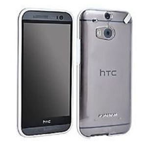 תמונה של Slim Shell HTC One M8 Clear/White Pure Gear