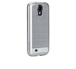 תמונה של Case-Mate Carbon Fiber Galaxy S4 - Argento Silver Case mate