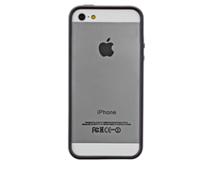 תמונה של Case-Mate Hula Bumper iPhone 5S - Black Case mate