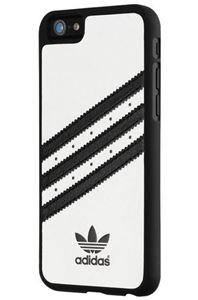 תמונה של Adidas Basics Moulded Case for Apple iPhone 6 - white/Black אדידס