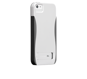 תמונה של Case-Mate Pop iPhone 5S WhiteTitanium-Gray Case mate
