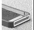 תמונה של Case-Mate Pop iPhone 5S White/Titanium-Gray Case mate