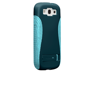 תמונה של Case-mate Pop Case Samsung Galaxy S3 in Navy/Aqua Case mate