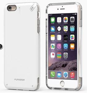 תמונה של DualTek PRO FOR iPhone 6S /6 PLUS Clear/White Pure Gear